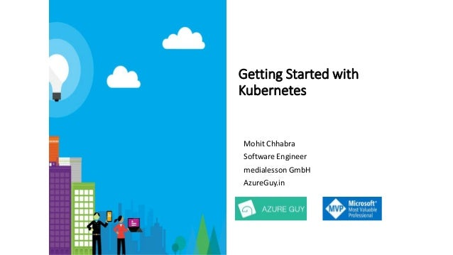 Getting Started with Kubernetes Mohit Chhabra Software Engineer medialesson GmbH AzureGuy.in