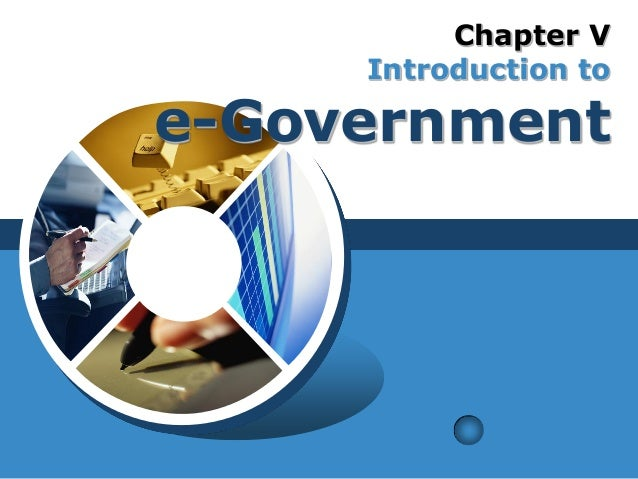 Chapter V Introduction to e-Government