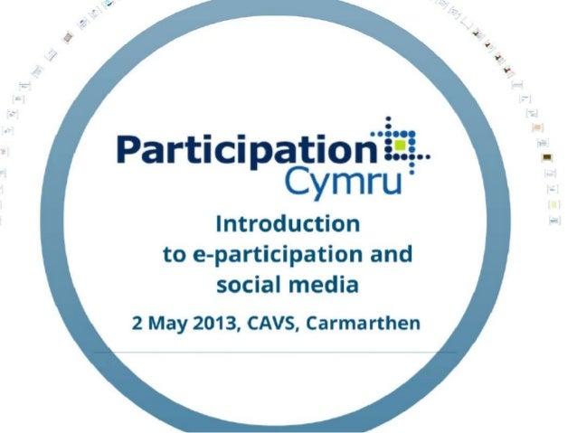 Intro to e-participation presentation