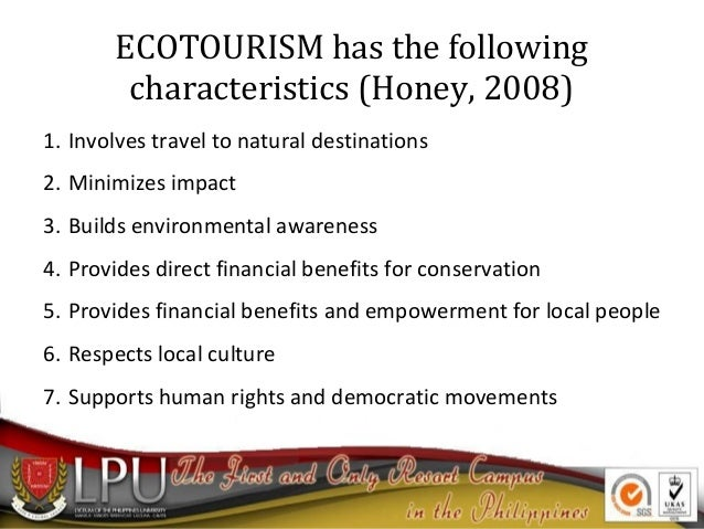 Intro to ecotourism