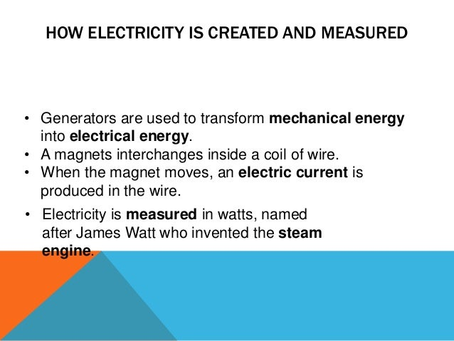 What year was electricity invented?