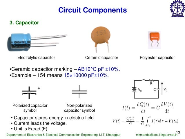1 Marking Yellow Ceramic Capacitor Capacitance Measurement