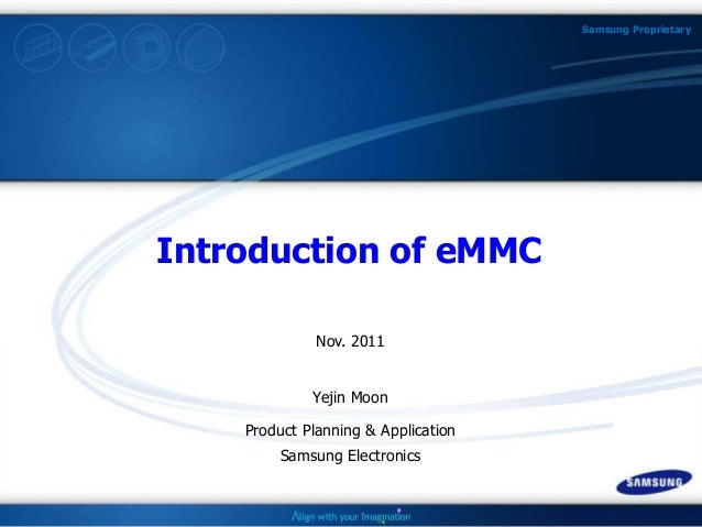 Q4 11: Introduction to eMMC