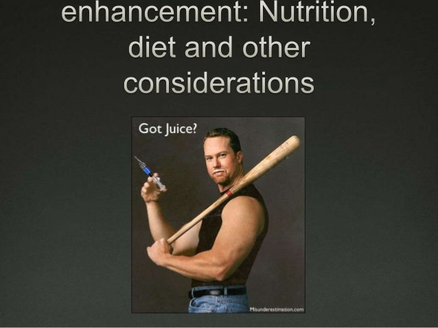 Performance enhancing substances  Ergogenic aids are practices or substances – legal or illegal – that improve performanc...
