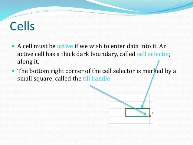 Changing Cell Size