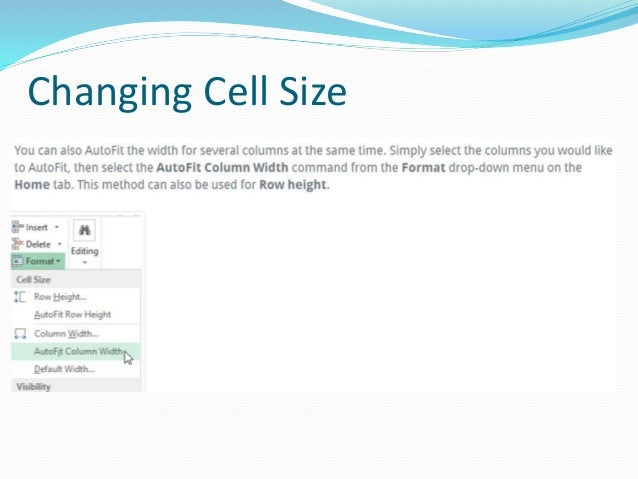 Changing Cell Size for all Cells