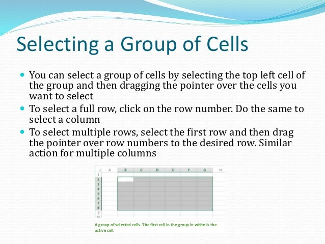 Excel Data Types Data types implies the types of cell entries Excel recognizes Three different types of entries  Text o...