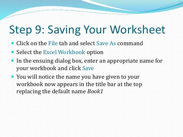 Printing a Worksheet  Click the Office Button and select the Print command  Select the print settings through the Print ...