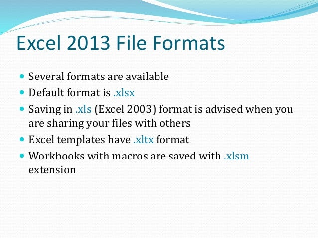Customizing Excel Settings  Click File > Option  Several categories of options are available for customization  Some ex...