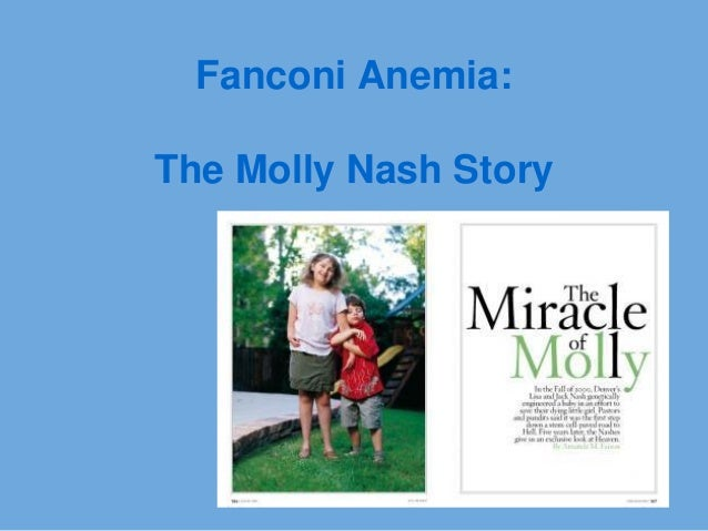 Fanconi Anemia:The Molly Nash Story