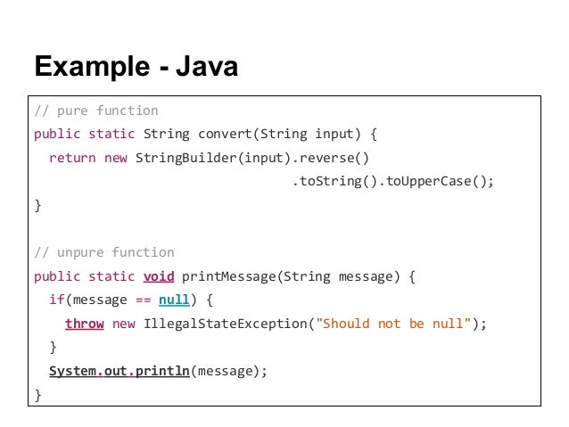 How to write and use a java method.