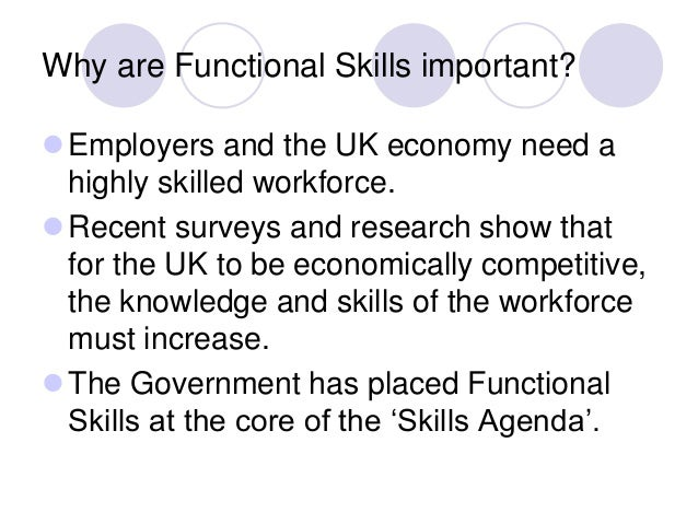 embedding functional skills in education Minimum core & functional skills behaviour management embedding & contextualising minimum core skills are important parts of your teaching.