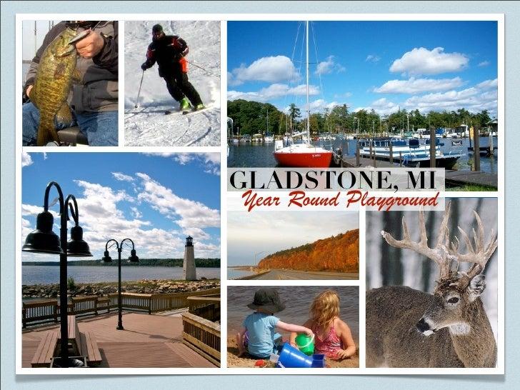 GLADSTONE, MI  Year Round Playground