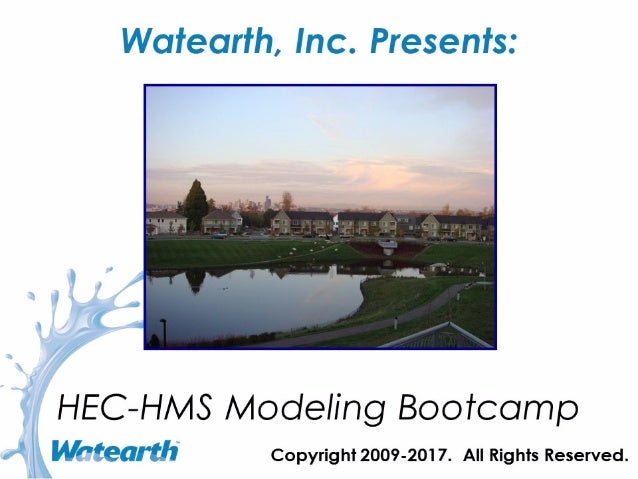 Watearth Introduction to HEC-HMS