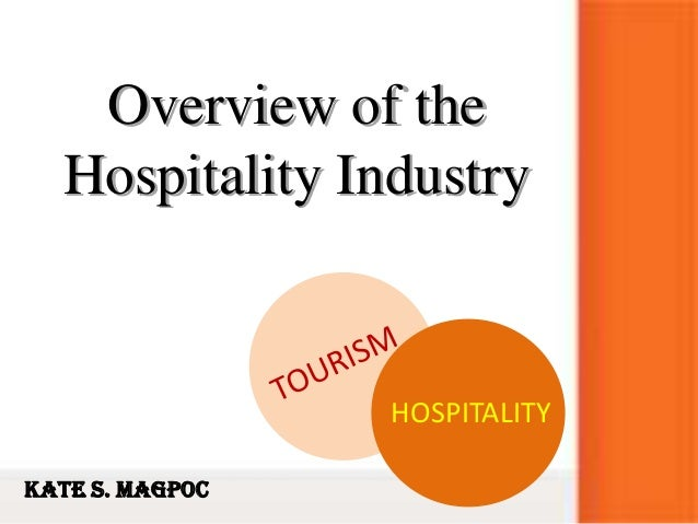 Overview of theHospitality IndustryHOSPITALITYKate S. Magpoc