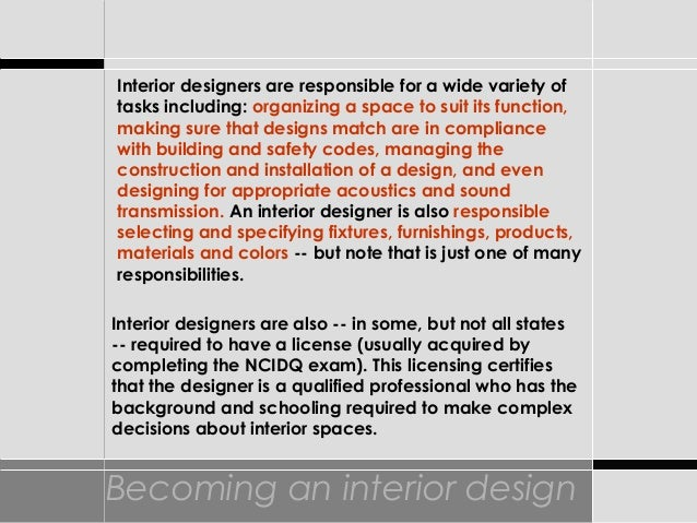 Intro To Int Design