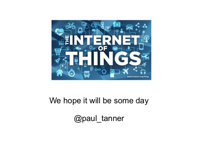 We hope it will be some day      @paul_tanner