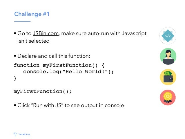 Thinkful - Intro to JavaScript