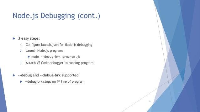 Intro to JavaScript Tooling in Visual Studio Code