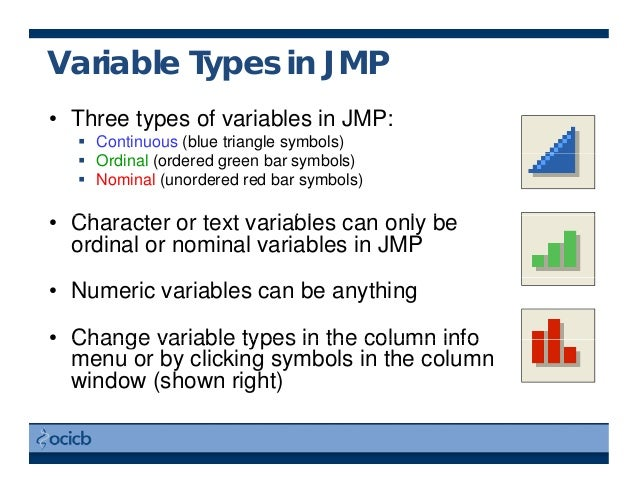Intro To Jmp For Statistics