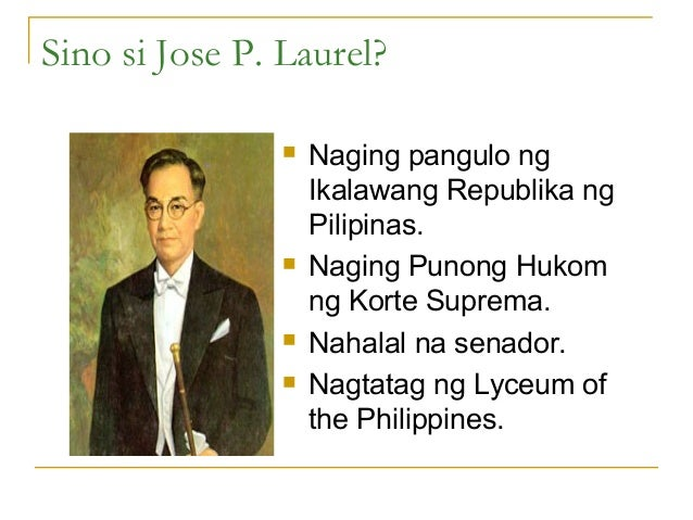 talambuhay ni jose p laurel Talambuhay ni jose p laurel same amount of work, but different amounts of n) energy b) power c) both of these d) none of these 5 if you do work on.