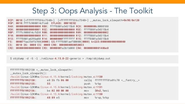 Intro to Kernel Debugging - Just make the crashing stop!