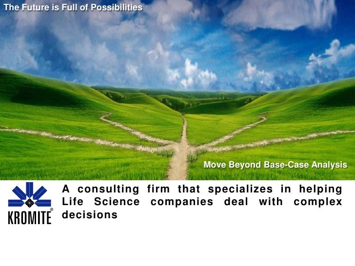 The Future is Full of Possibilities<br />A consulting firm that specializes in helping Life Science companies deal with co...