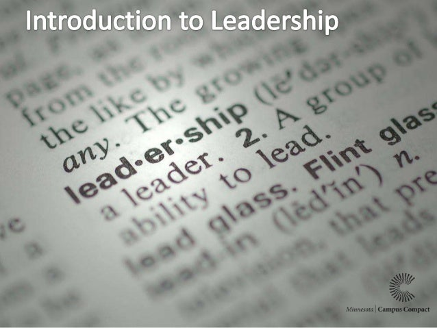 What qualities made them good leaders? Do you have some examples of good leaders?