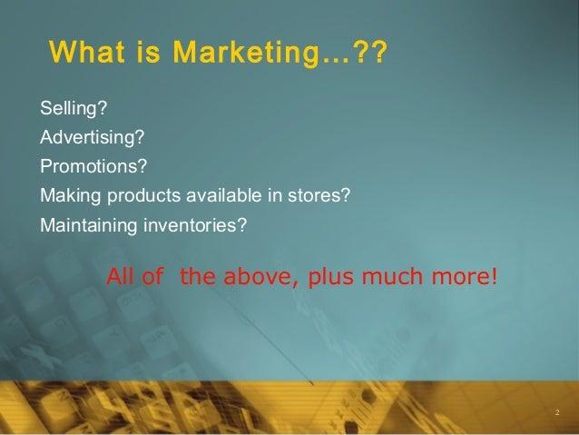 Intro to marketing Slide 2