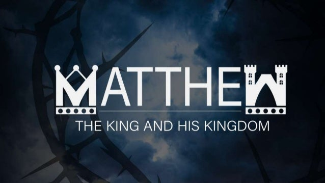 An Intro to the Gospel of Matthew