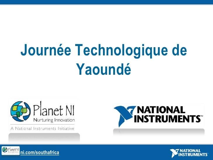 Journée Technologique de Yaoundé<br />