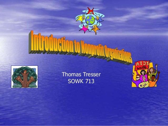Thomas TresserSOWK 713