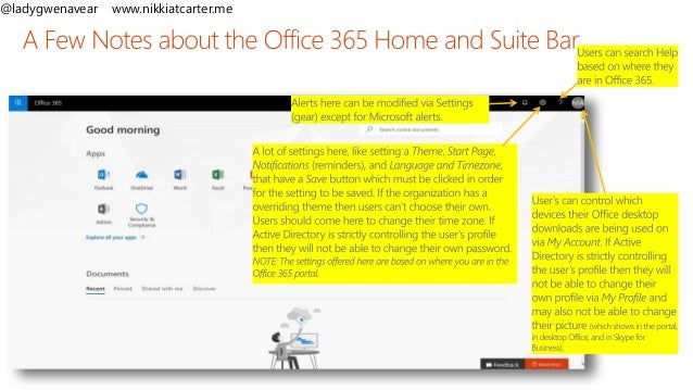 Introduction to Office 365 Administration - SPSVB 2019