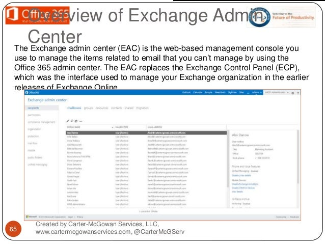 Intro to Office 365 Admin
