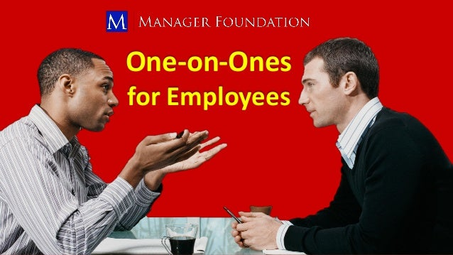 One-on-Ones for Employees