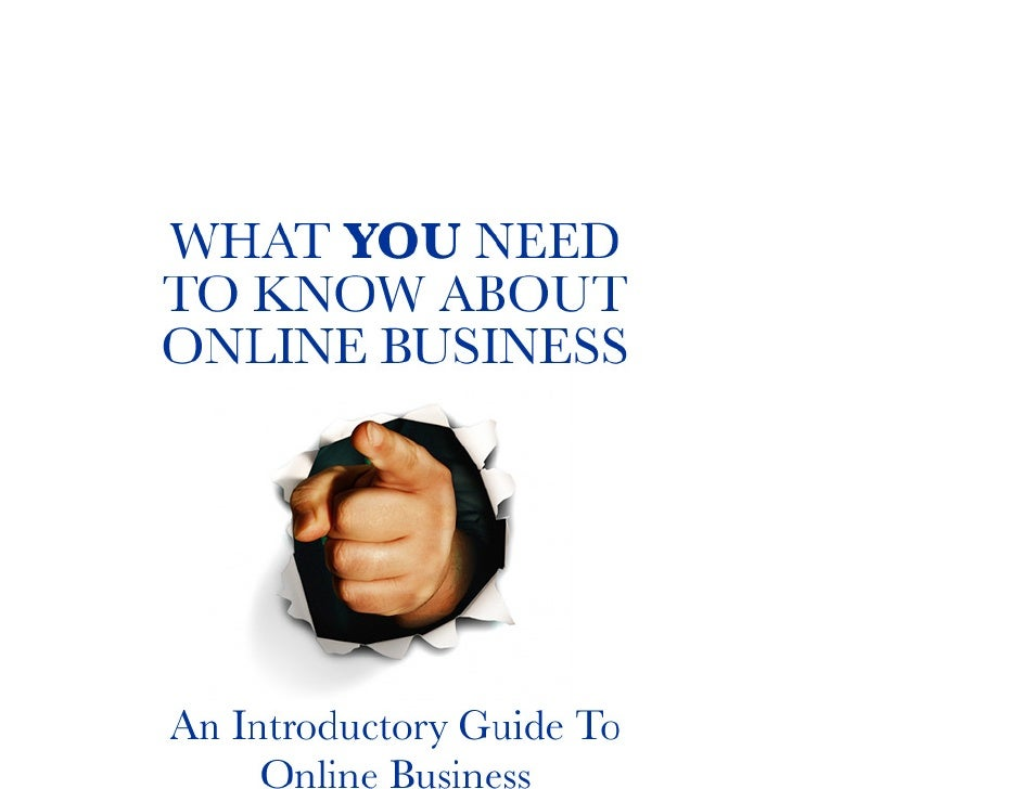 By http://upandcomingmarketing.com/Table of Contents    The Distinctions Of Online Businesses................................