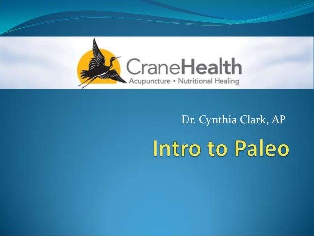 Dr. Cynthia Clark, AP