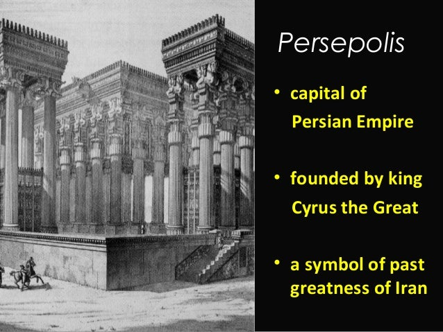 Intro To Persepolis Ppt