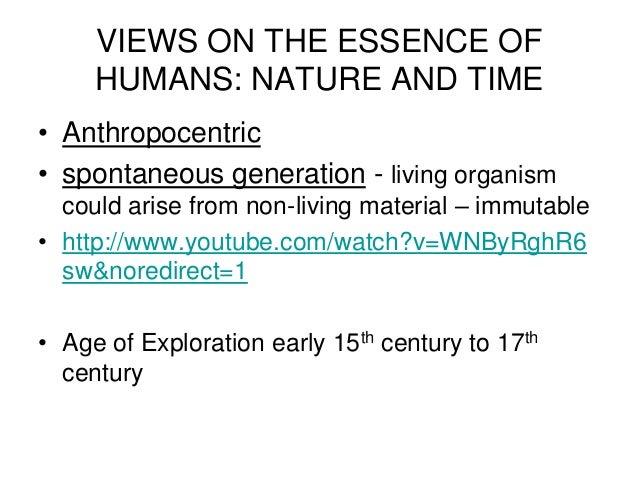 Anthropocentrism and Ecocentrism Essay Sample