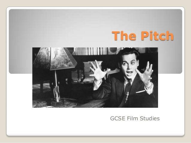 The PitchGCSE Film Studies