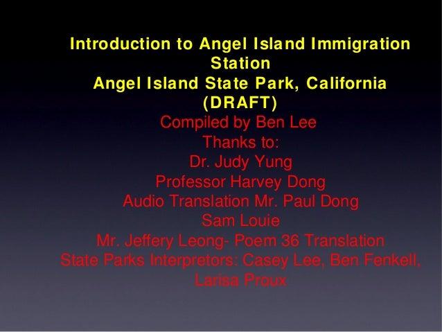 Angel Island Poems 3