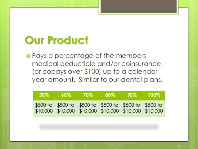 Calendar Year Medical Deductible : Intro to premier care supplemental medical plan