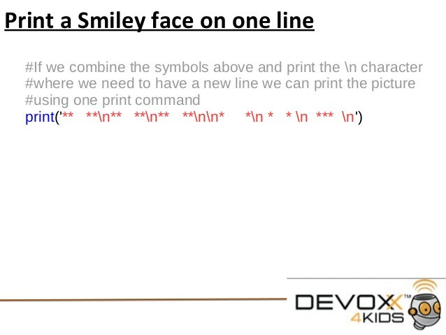 how to line break in python