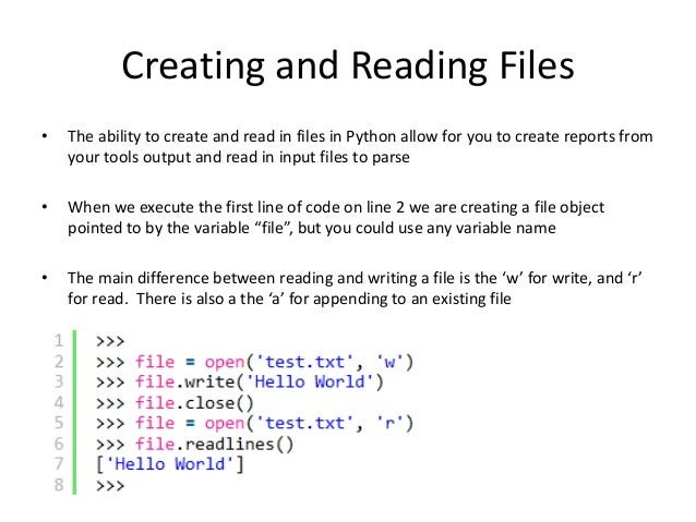 python how to write to text file