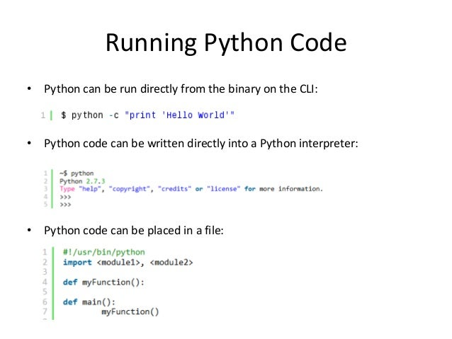 Why learn to program in python