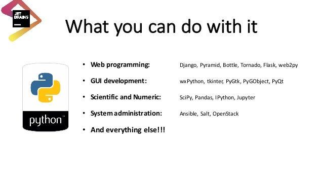 Learning Python with PyCharm EDU