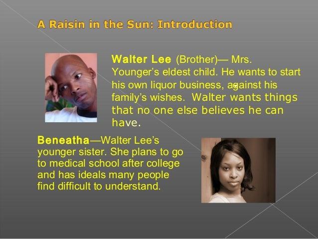 walter lee raisin in the sun