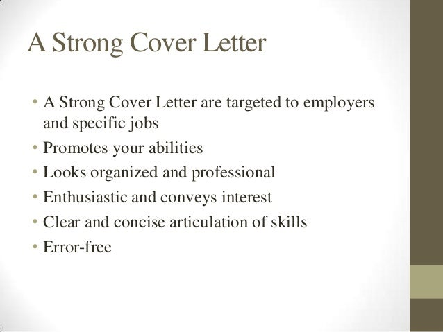 strong opening statement for cover letter Tips for writing strong cover letters grabbing attention with your cover letter's to put into the opening line is a clear statement of what.