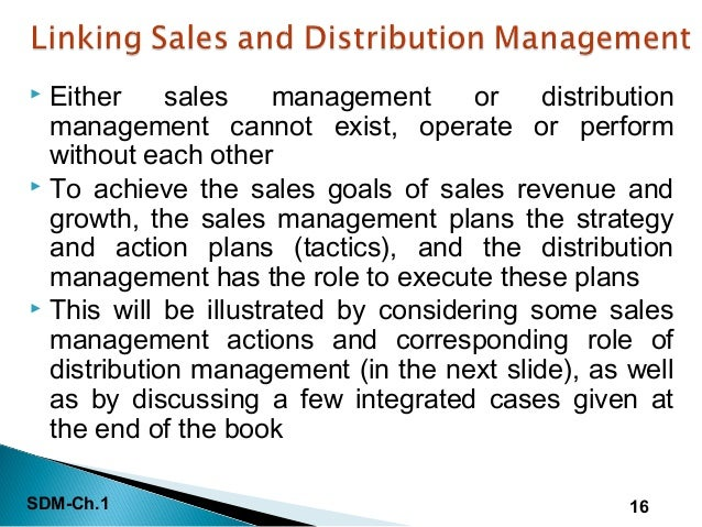 intro to sales management Sales management is a business discipline which is focused on the practical  application of sales techniques and the management of a firm's sales operations.