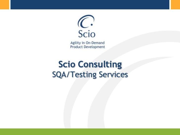 Agile SQA/Test Driven Development<br />